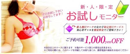 リッチドール梅田店 ファッションヘルス 梅田 新人お試し割引の割引クーポン